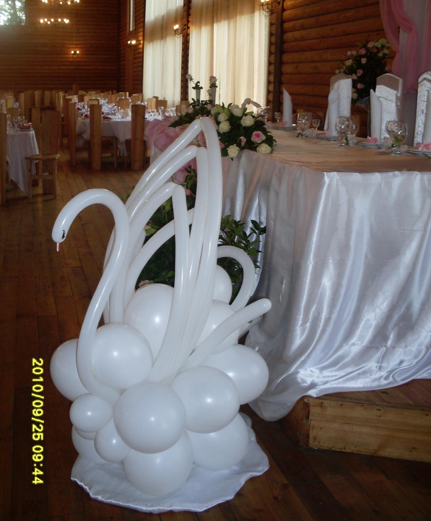 Лебеди из шаров своими руками фото 338